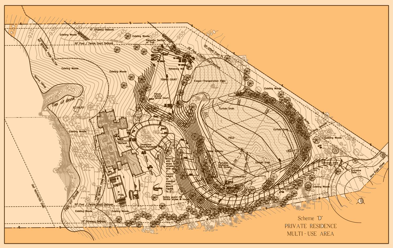 Schematic Grading & Drainage Design