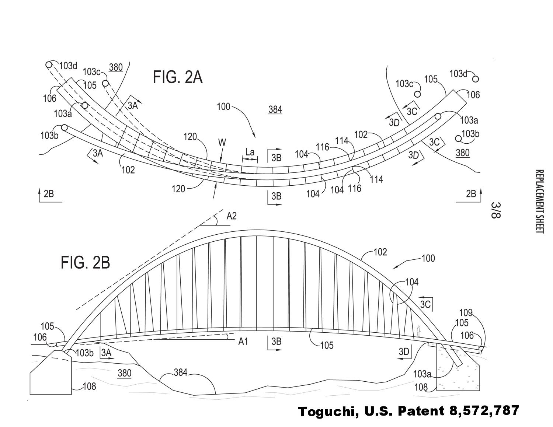 curved bridge patent 3
