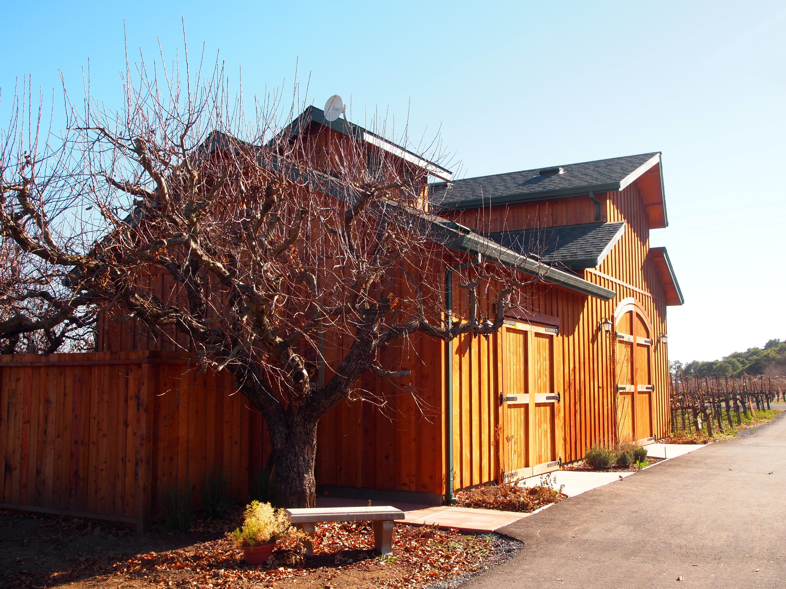 Vineyard Ranch Cellar and Winery Office