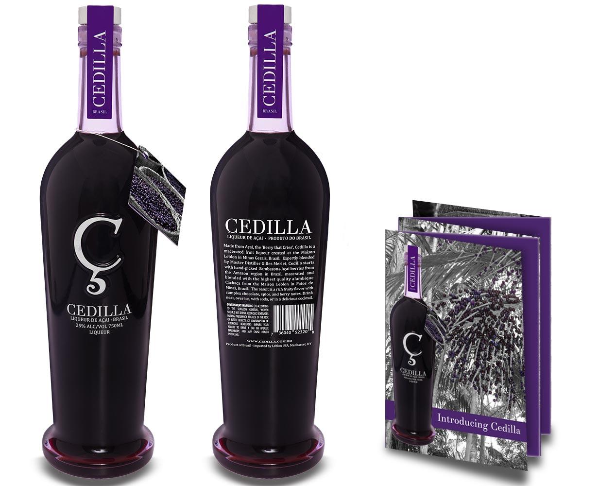 Cedilla Liqueur Packaging