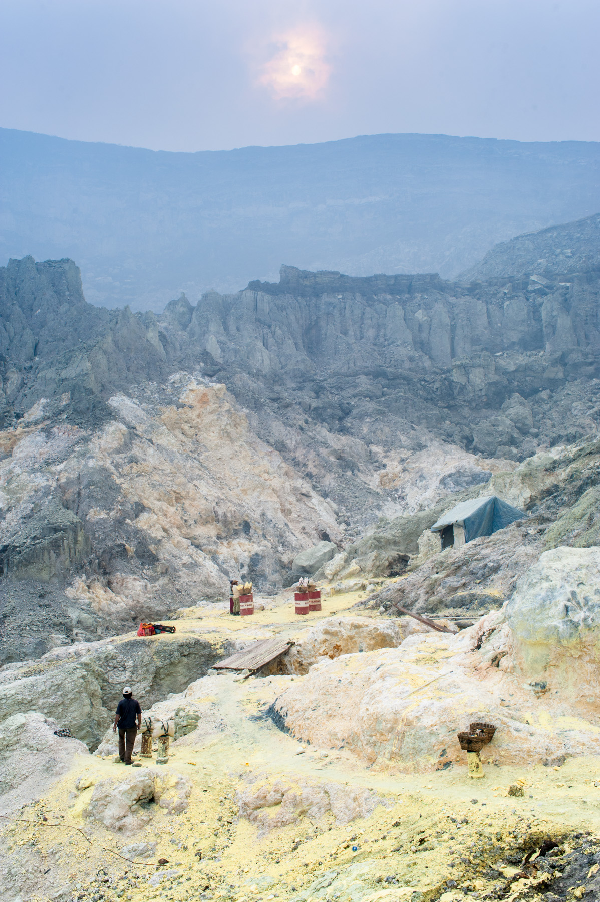 Kawah Ijen's Sulfer Miners