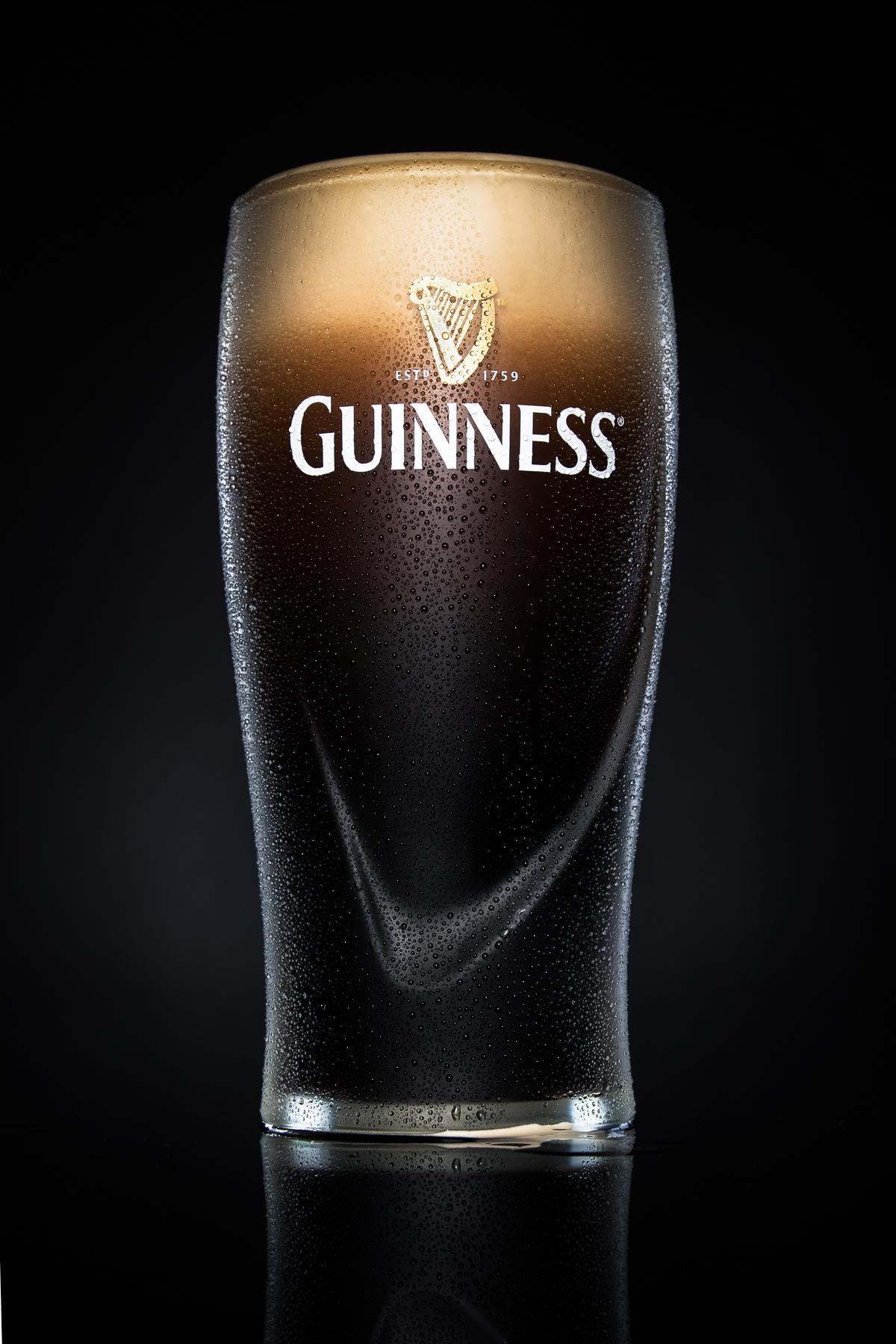 Guinness draught pint
