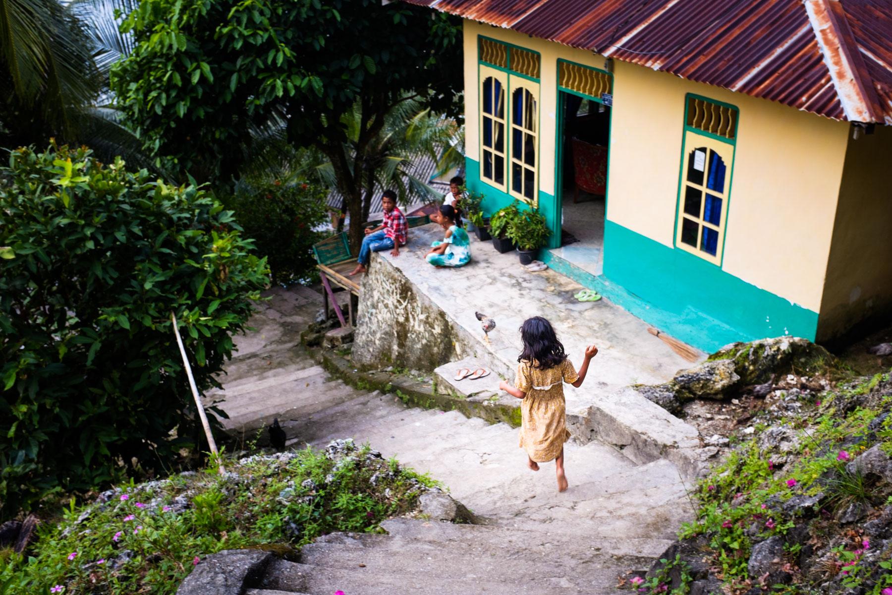 Run island, Banda, Indonesia