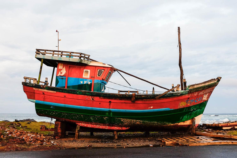 Fishing boat, Matare, Sri Lanka