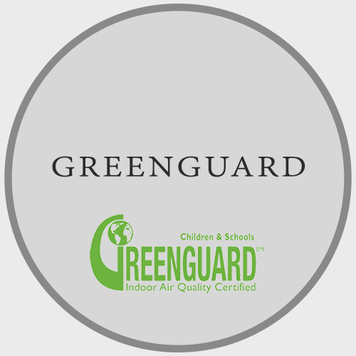 GREENGUARD Indoor Air Quality Certified