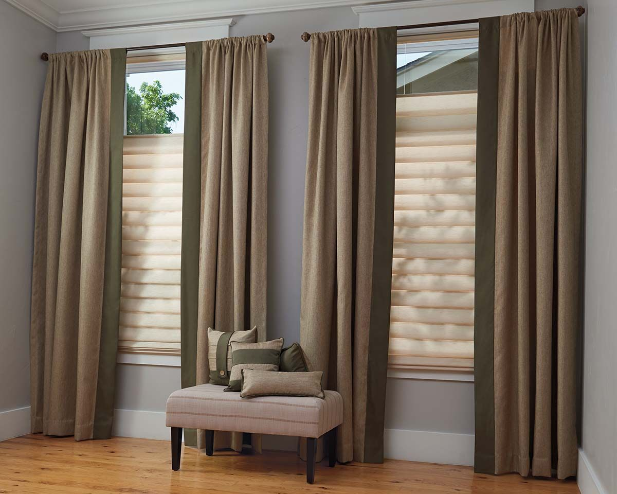 <p><strong></strong>Vignette Modern Roman Shades with UltraGlide