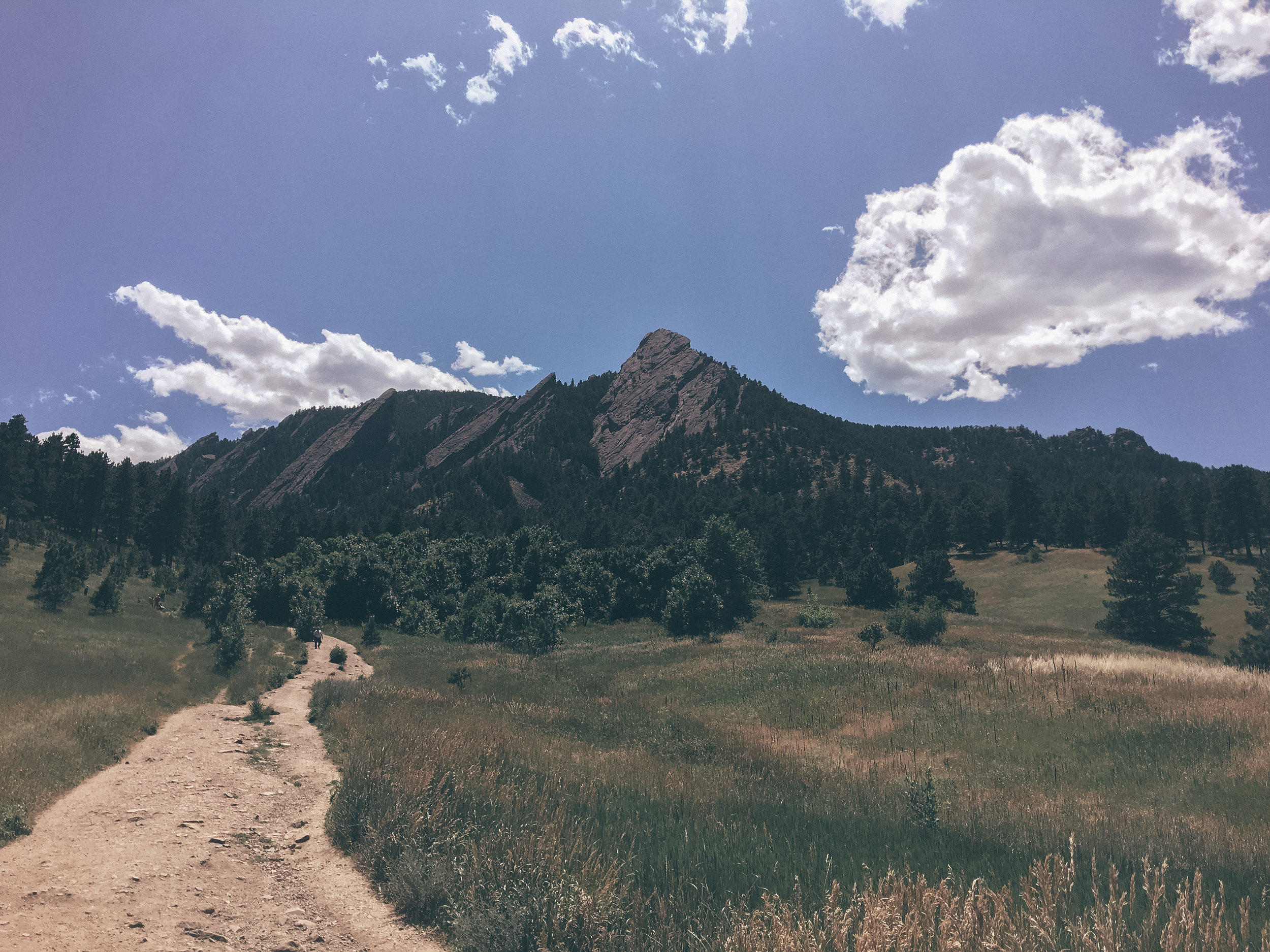 The Flat Irons -Boulder, CO