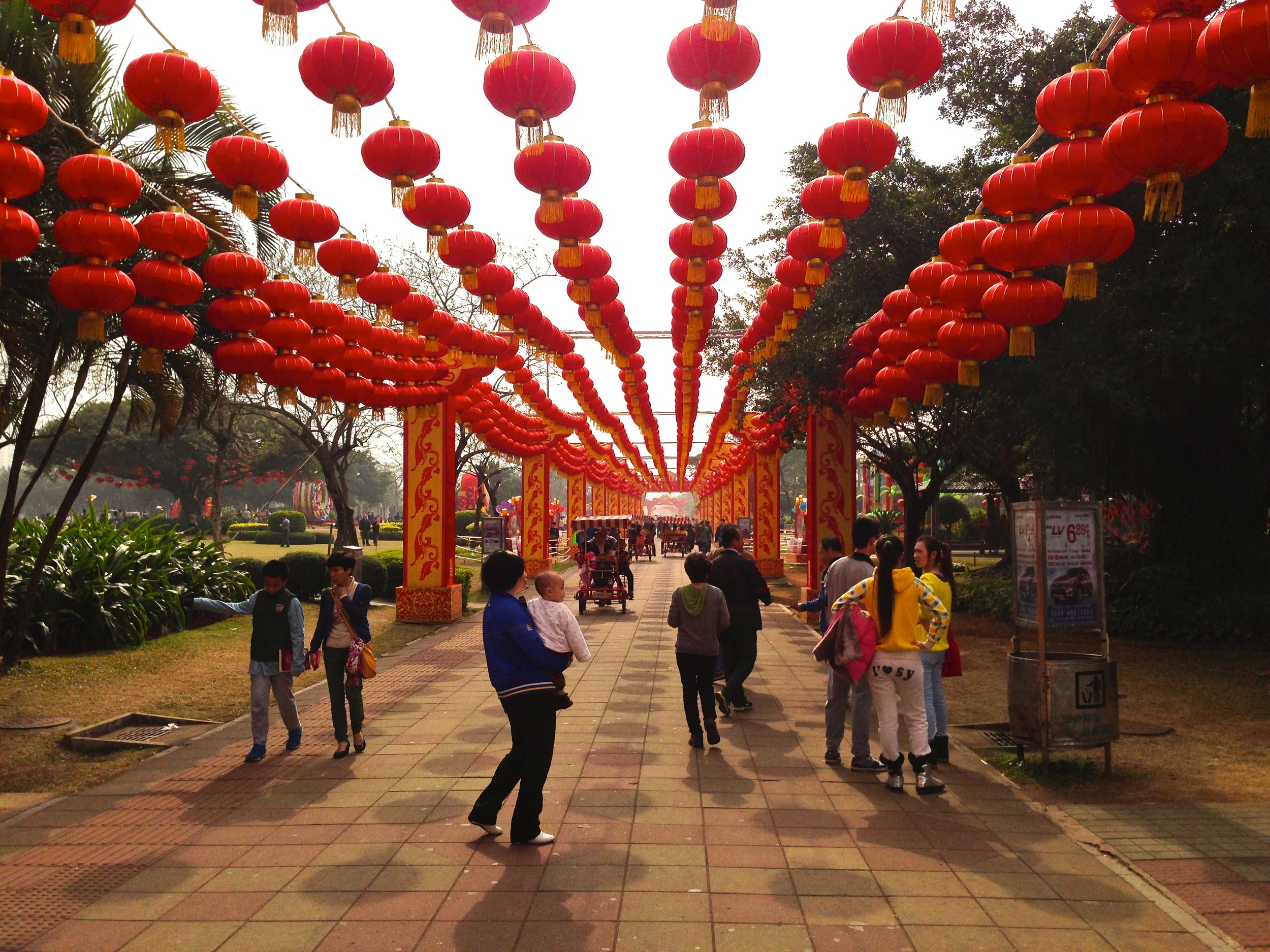 The year started with Chinese New Year in Haikou. It is something everyone should experience once, though be sure to bring earplugs and avoid the crowds at RT Mart the week before!