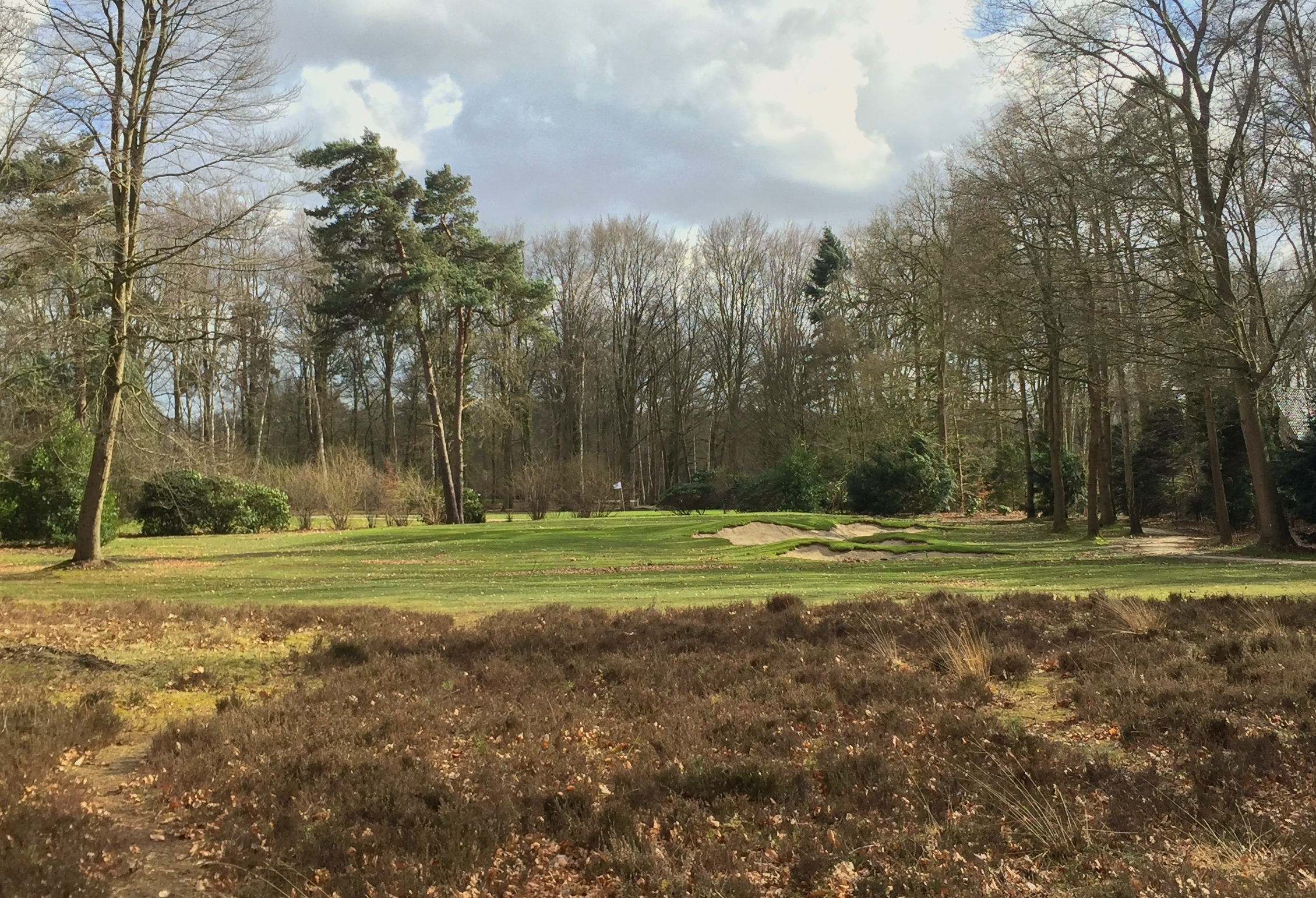The 9th hole at the Sallandsche Golf Club in Diepenveen, Netherlands.