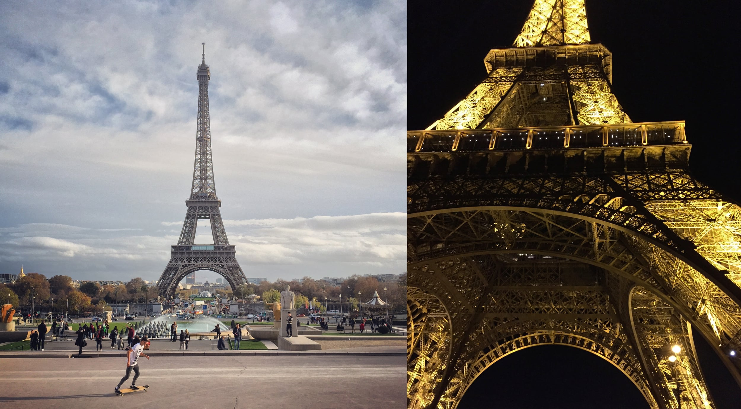The Eiffel Tower exceeded expectations