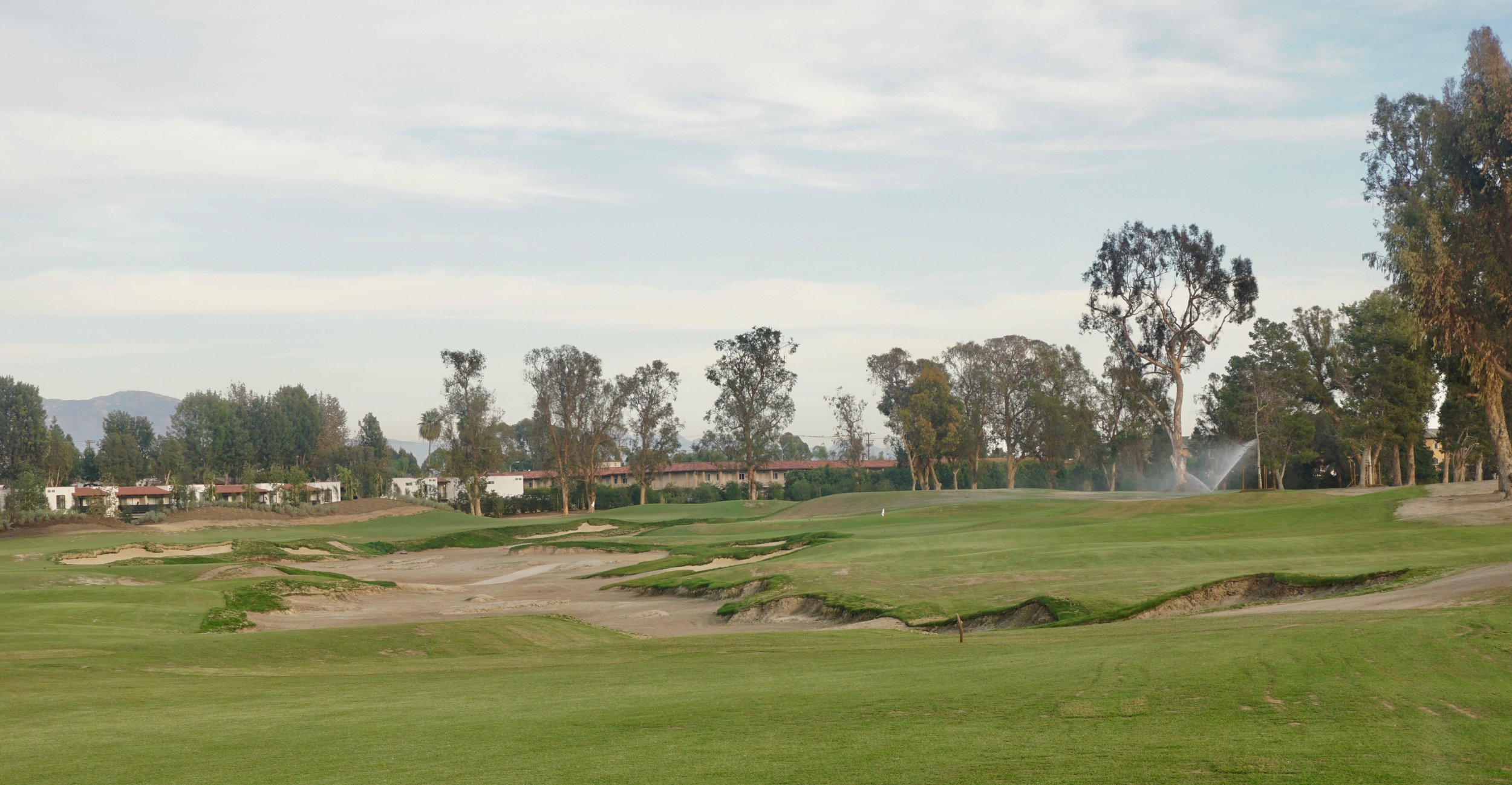 As story after story broke in 2016, there was a good chance I was working somewhere in and about this large restored wash at Santa Ana CC.