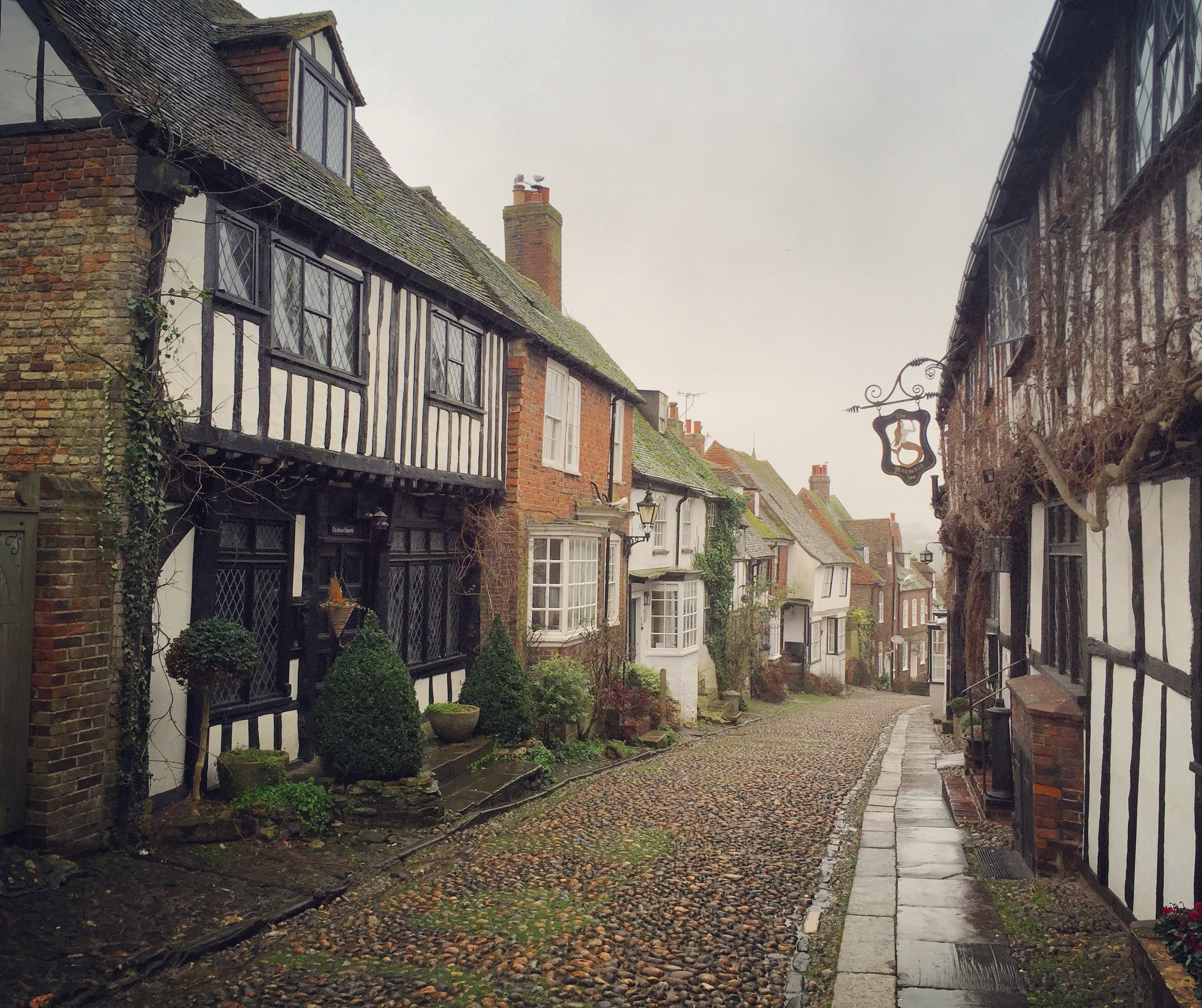Rye is a fantastically charming little town.