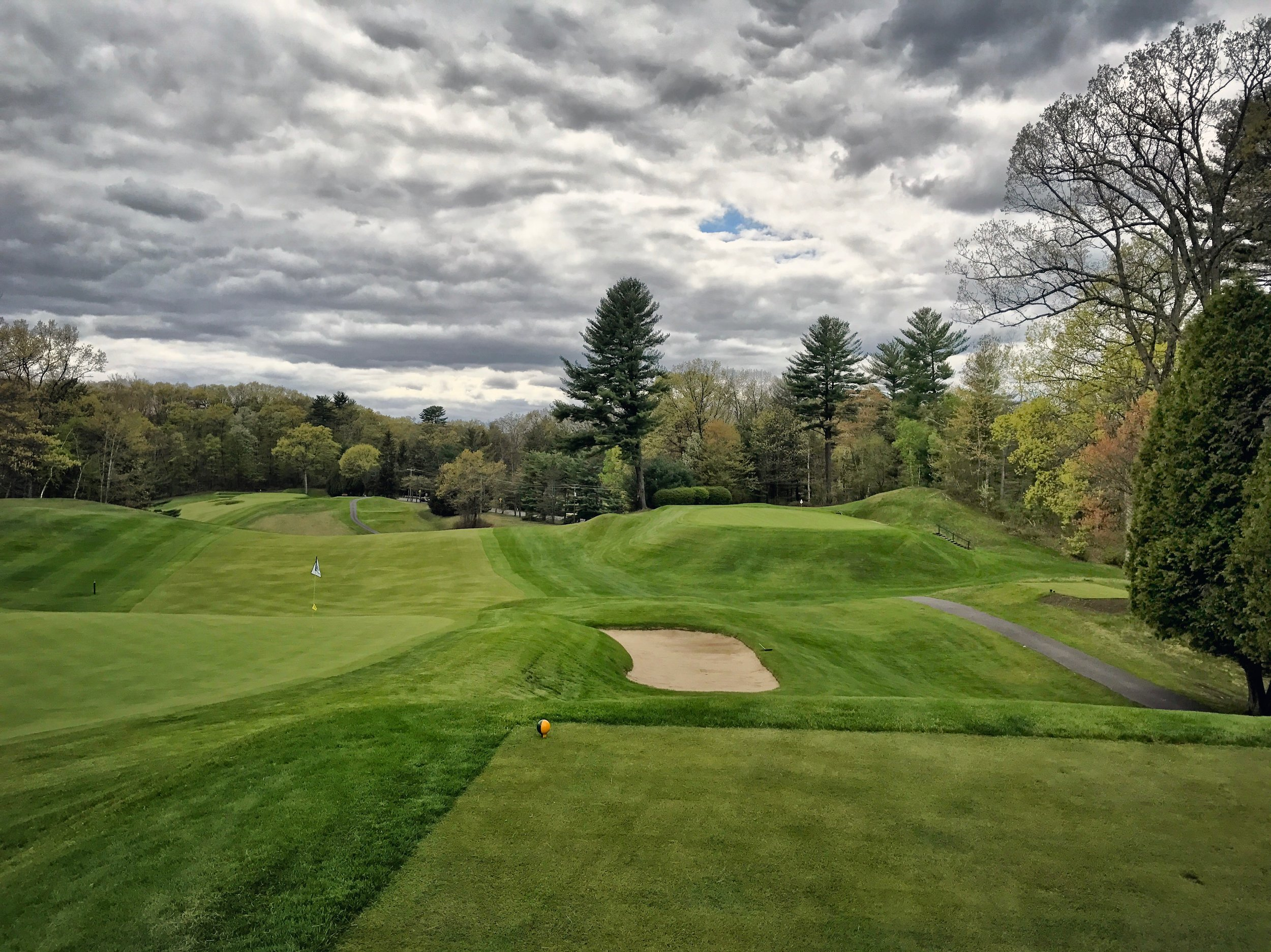 Glens Falls is a rollicking Upstate NY Ross course.