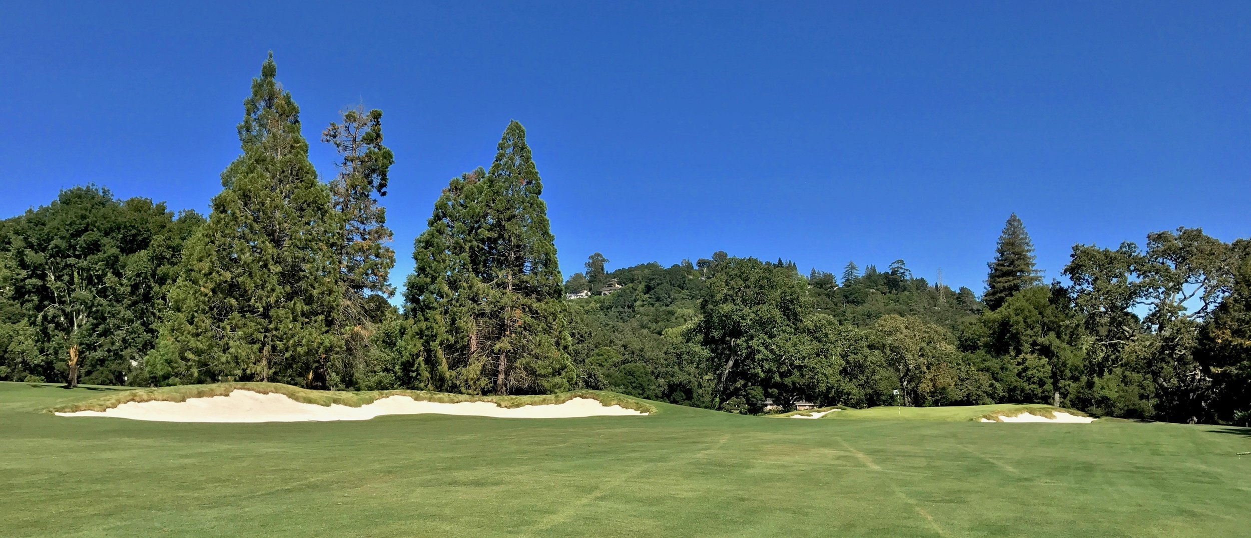 Another view of the 14th from further back in the fairway
