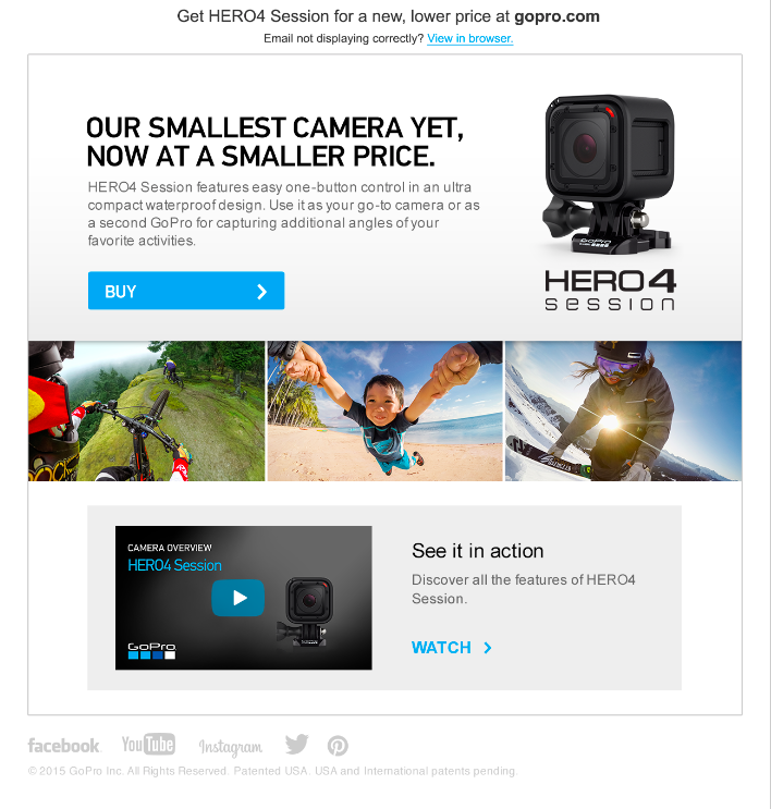 HERO4 Session Price Drop