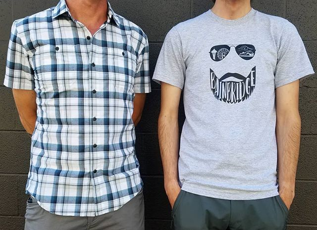 It's Dad and Grad weekend! . We have a great selection of awesome shirts! And check out our new custom Bainbridge Bro Tee! Made by the very talented @elmandcompany Come visit us 10am-7pm! . #Wildernest #outdoorstore #shopsmall #shoplocal #bainbridgeisland #seattle #98110 #fathersday #graduation #weekend #celebrate