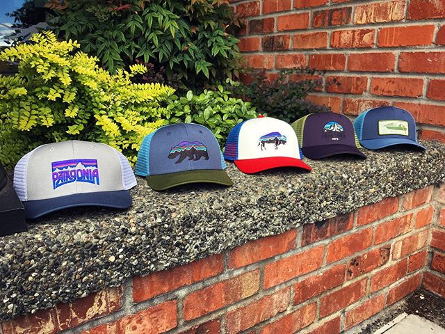 Who doesn't need another trucker hat? More @patagonia hats just arrived. Come grab one before they are all gone! 🧢 🧢 🧢 #wildernest #outdoorstore #smallbusiness #shoplocal #98110 #patagonia #trucker #lopro #rogerthat #pnw #pnwlife #upperleftusa #getoutside