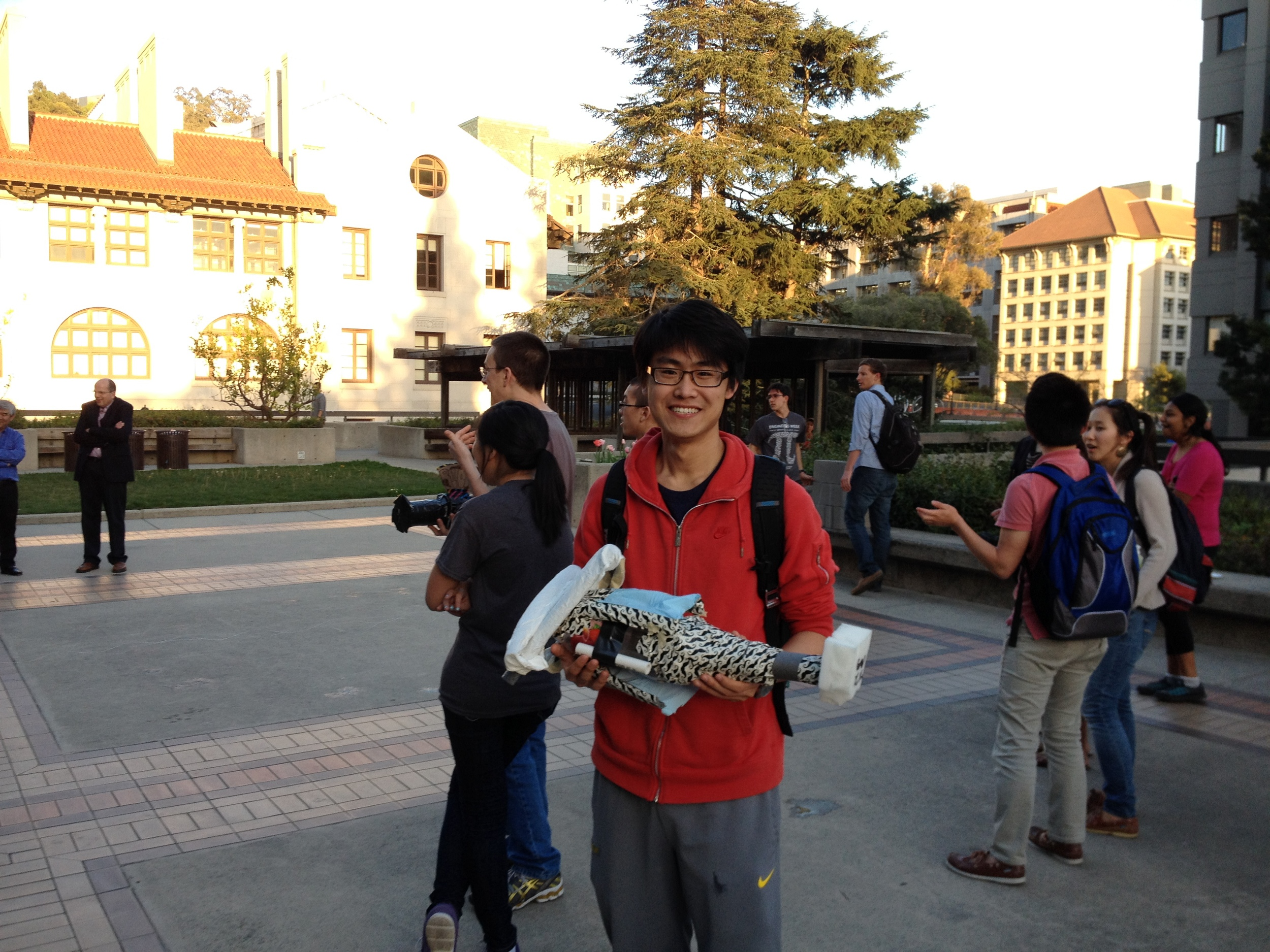 Mustache Missile Ship - UC Berkeley Engineering Week 2014 Design and Build Winning Team