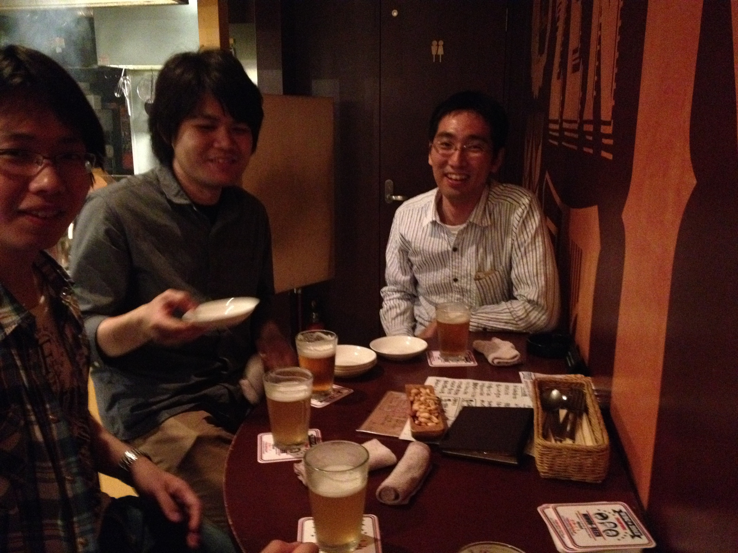 Thank you very much for Okuno Sensei treating us this dinner!