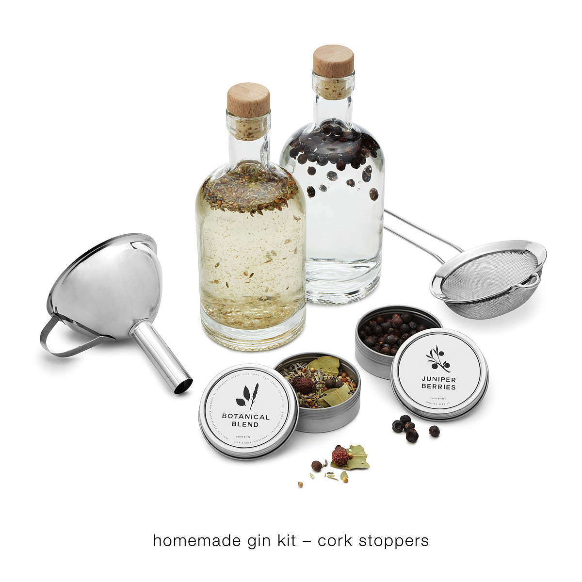 Uncommon Goods  Homemade Gin Making Kit $50