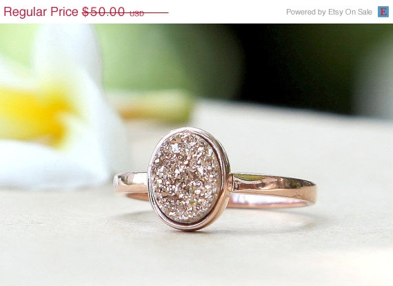 Rose Gold Ring $38