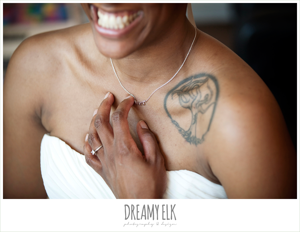 11 bre'onna, brazos bookstore bridals, bride with tattoos