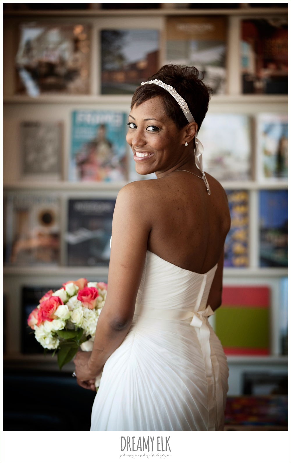 12 bre'onna, brazos bookstore bridals, bride with tattoos