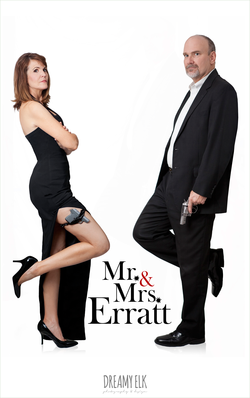 mr and mrs movie poster spoof