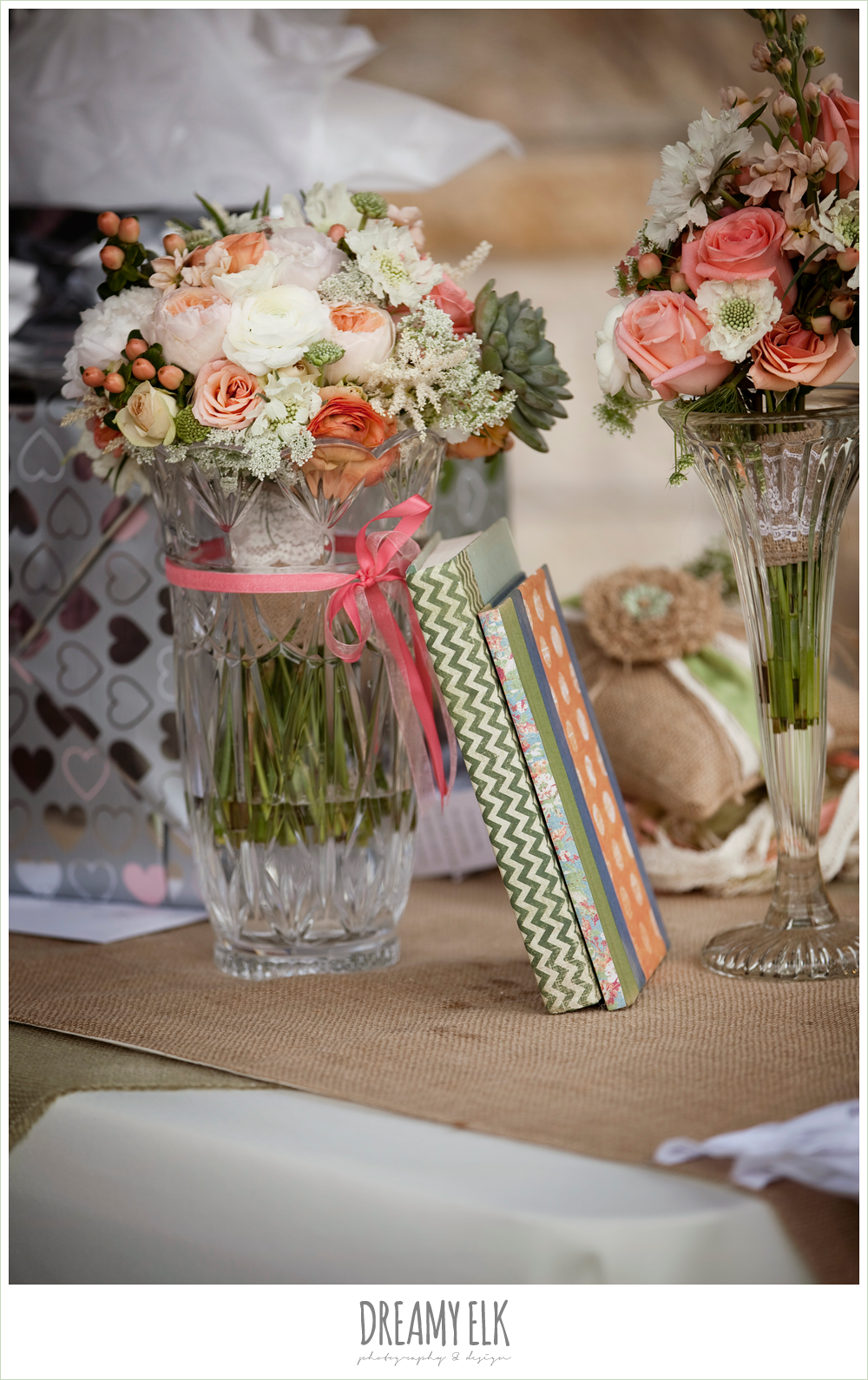 shabby chic wedding, bouquet