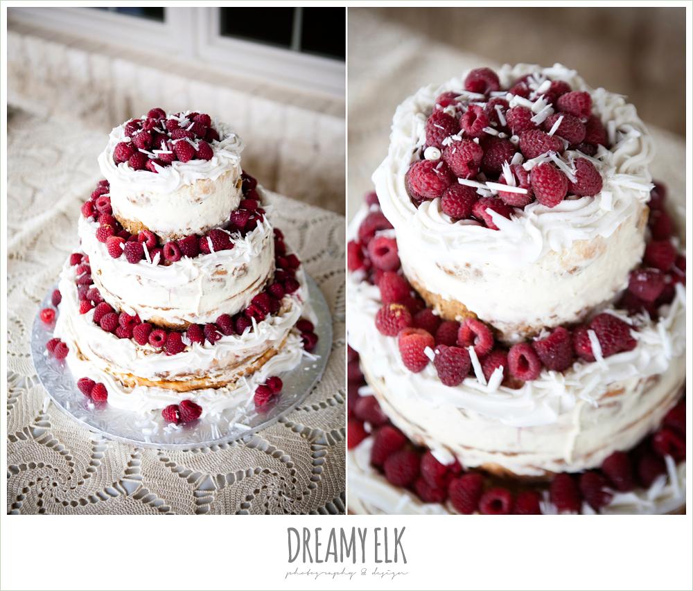 raspberry cheesecake wedding cake