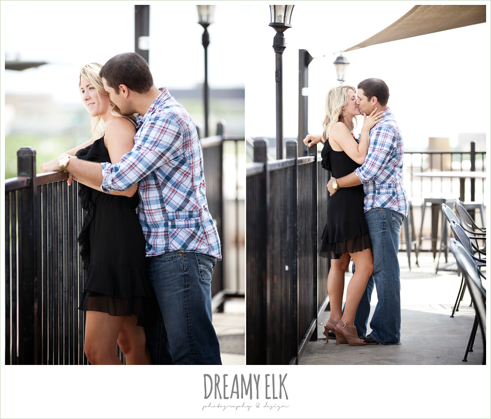 northgate rooftop engagement photo
