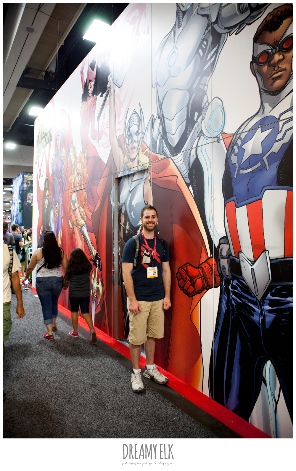 marvel booth, comic con 2014