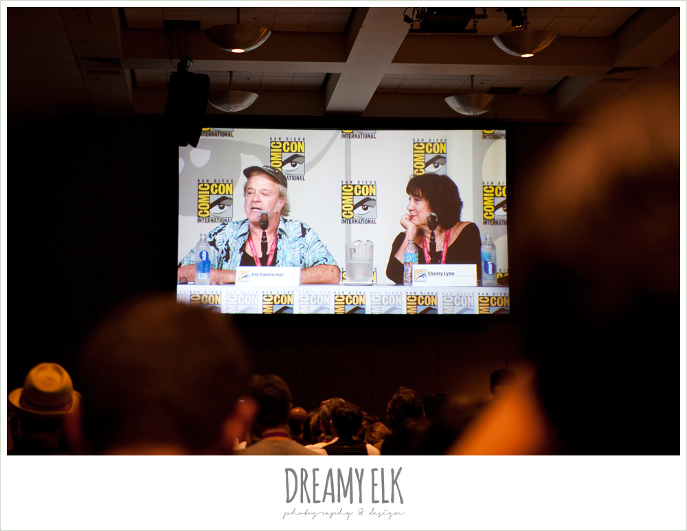 voice actor panel, comic con 2014