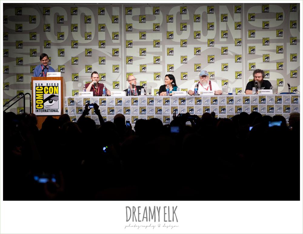 fantasy author panel, comic con 2014