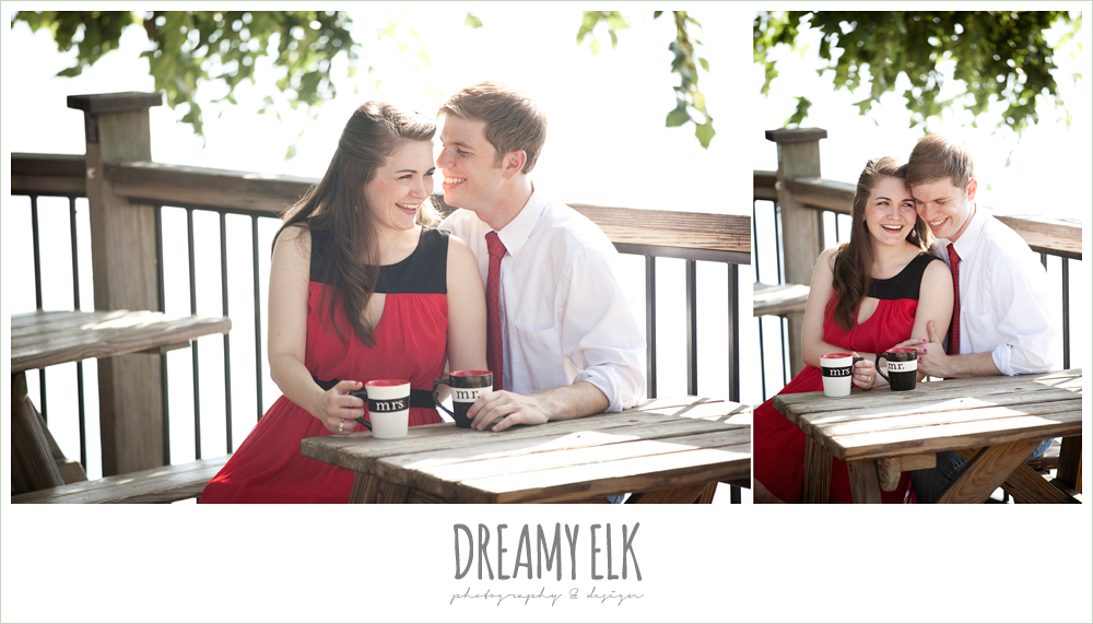 mozart's coffee, austin engagement photo
