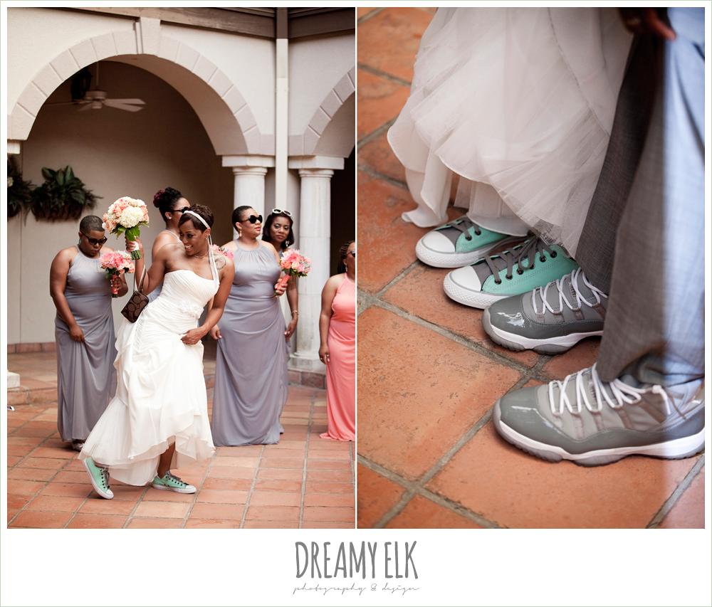 custom grey wedding converse, strapless wedding dress, northwest forest conference center, dreamy elk photography and design