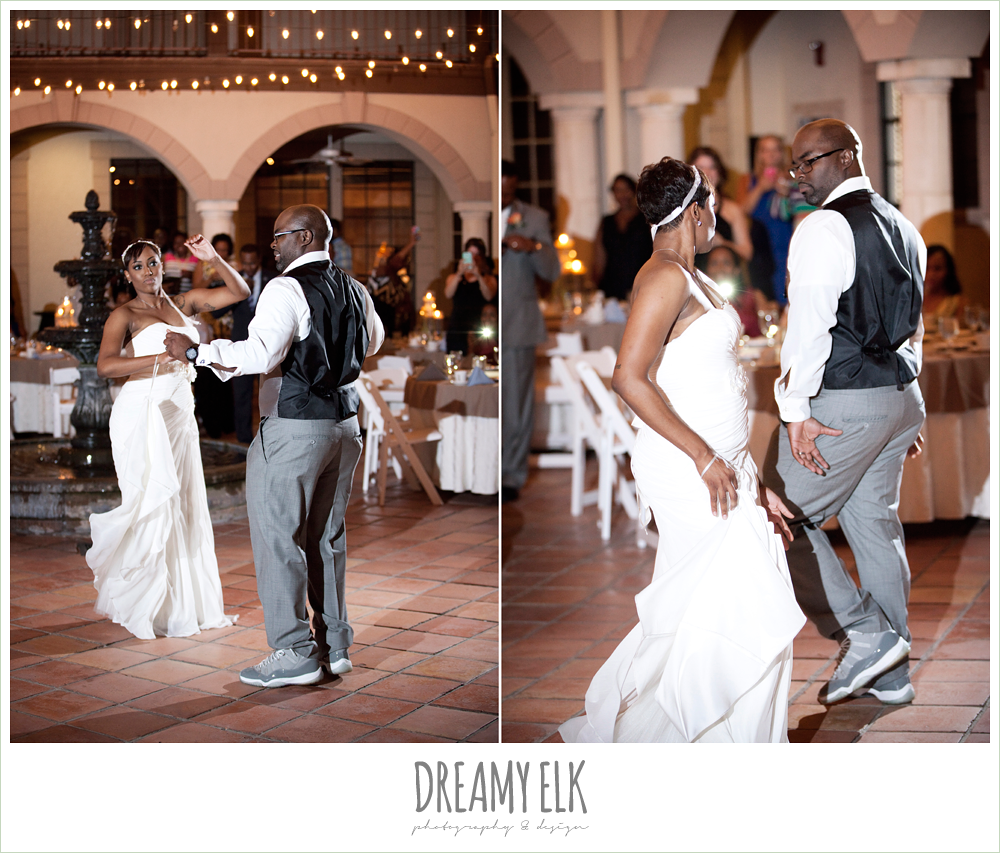 funny first dance, northwest forest conference center, dreamy elk photography and design