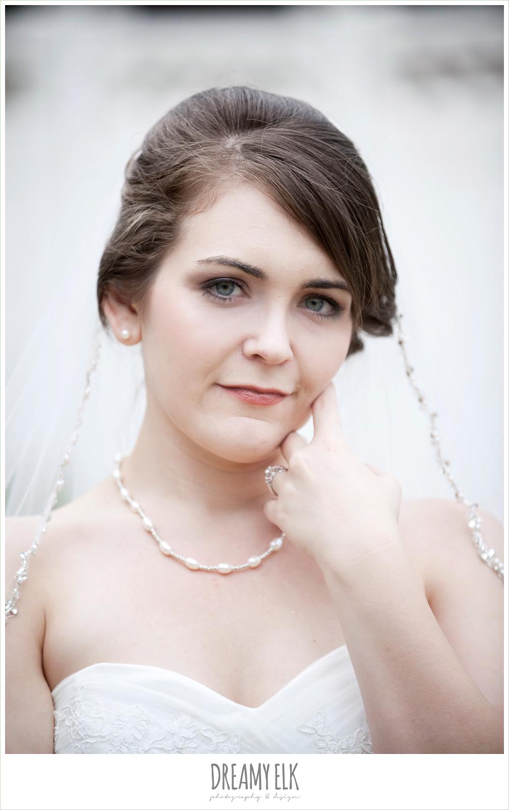 sweetheart strapless lace wedding dress, beaded veil