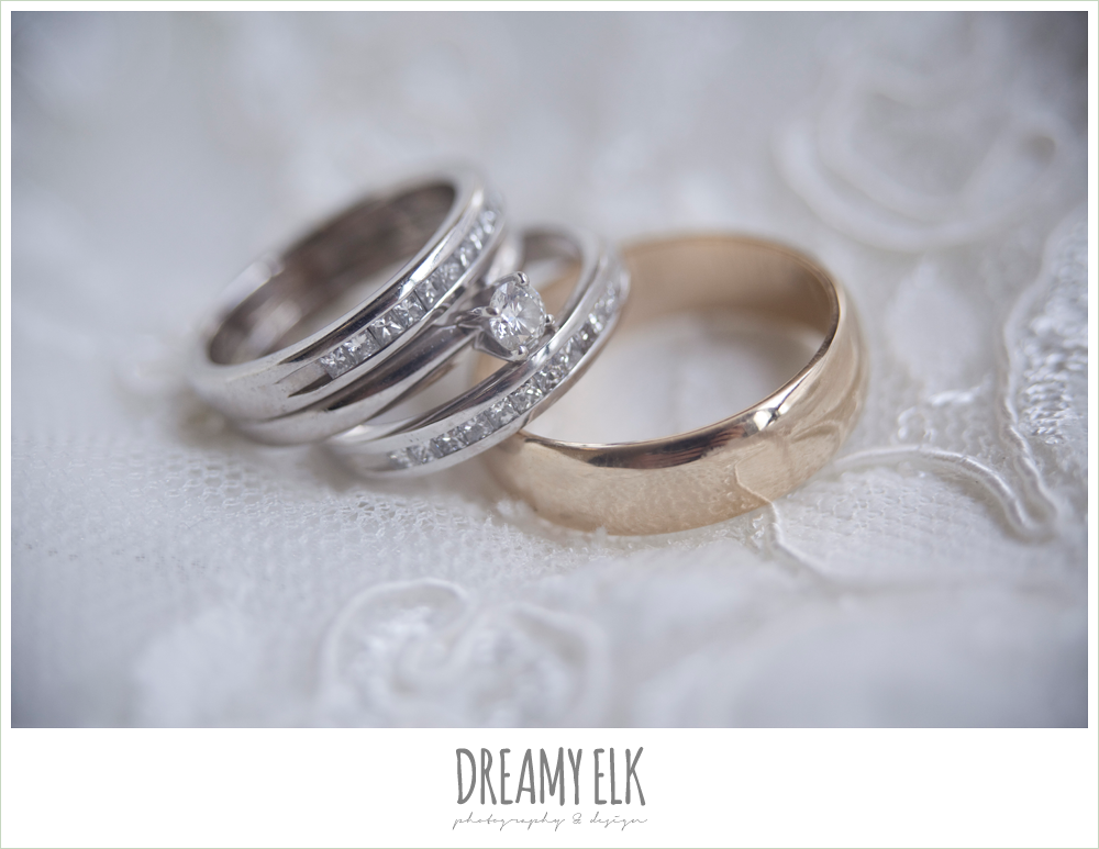 wedding bands, dreamy elk photography and design