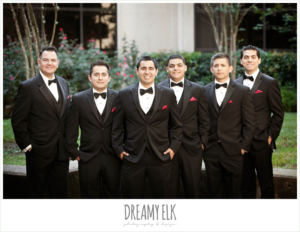 groom and groomsmen, classic tuxedo, dreamy elk photography and design