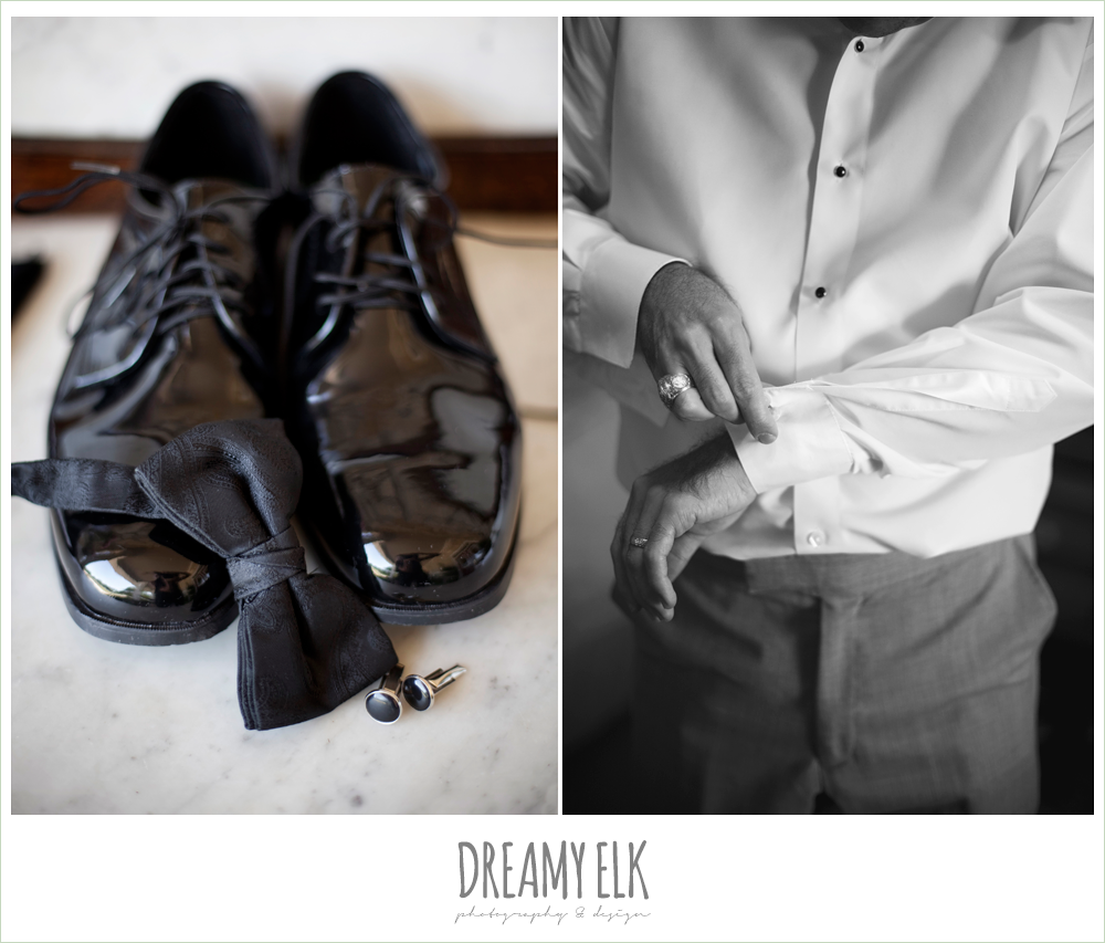tuxedo shoes and black bowtie, dreamy elk photography and design
