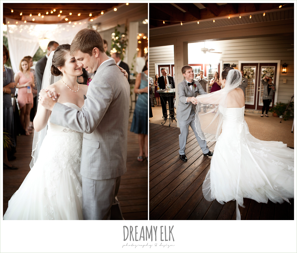 bride and groom dancing, october wedding, inn at quarry ridge, dreamy elk photography and design
