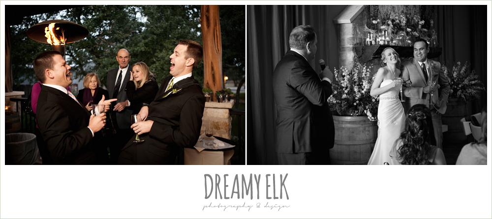 wedding reception, winter vineyard wedding, dreamy elk photography and design