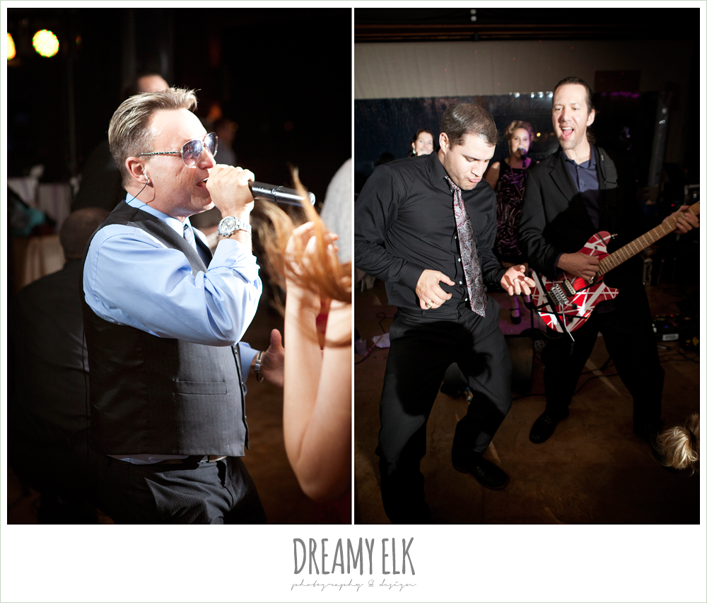 the sophisticates, live band, fall wedding, rock lake ranch, dreamy elk photography and design