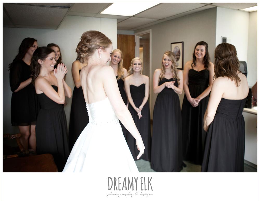 excited bride, winter wedding, austin wedding photographer, dreamy elk photography and design