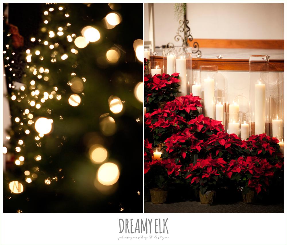 christmas decorations, winter wedding, austin wedding photographer, dreamy elk photography and design