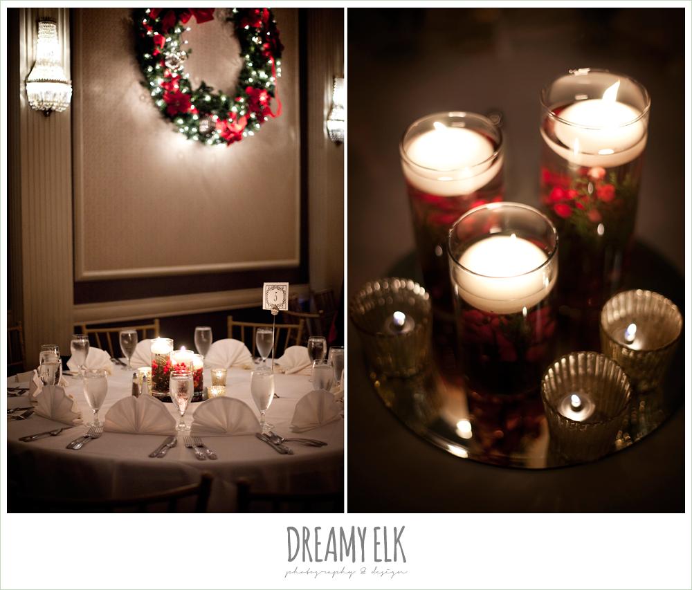 reception decoration, winter wedding, austin wedding photographer, dreamy elk photography and design
