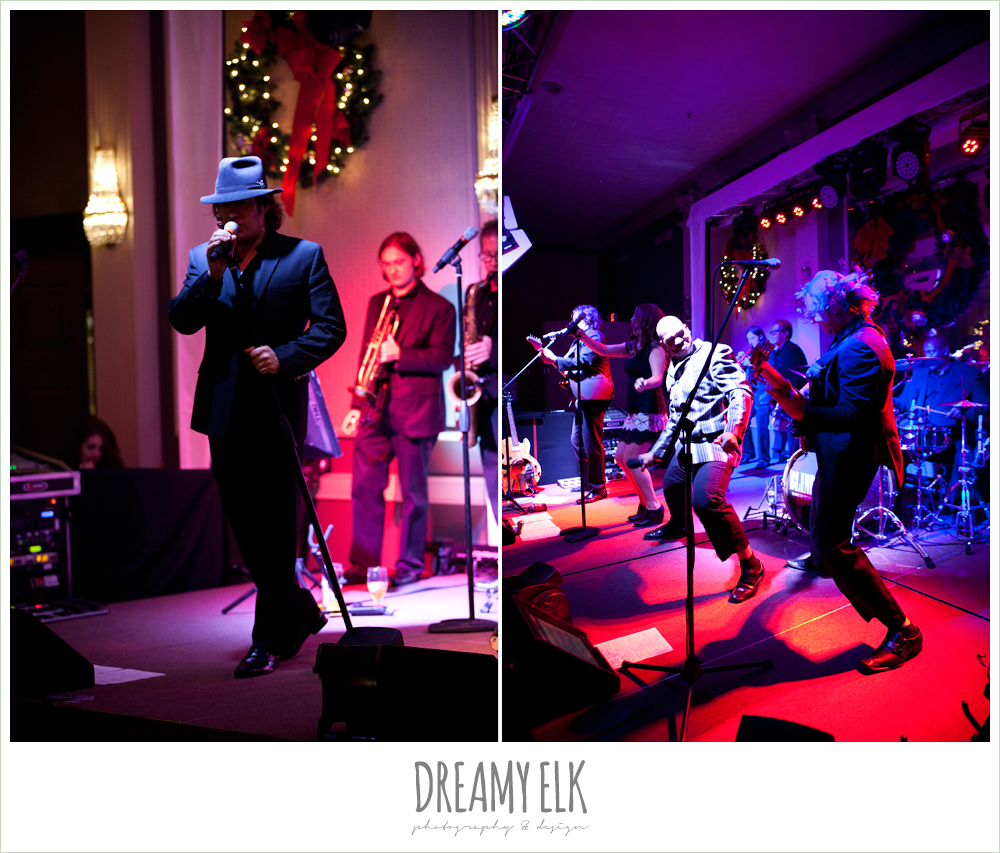 the blind date, live band at wedding reception, winter wedding, austin wedding photographer, dreamy elk photography and design
