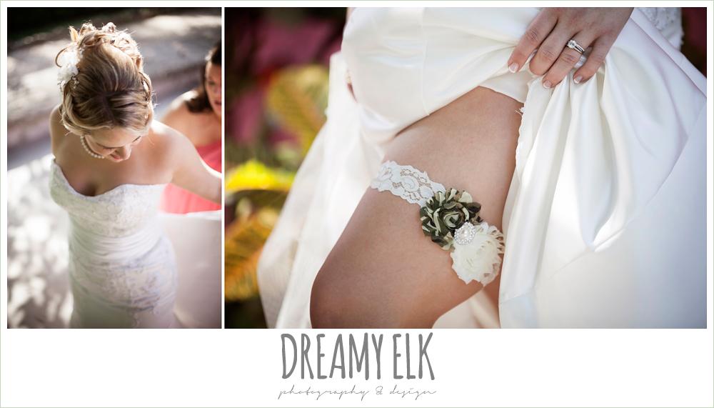 camo wedding garter, destination wedding, cozumel {dreamy elk photography and design} photo