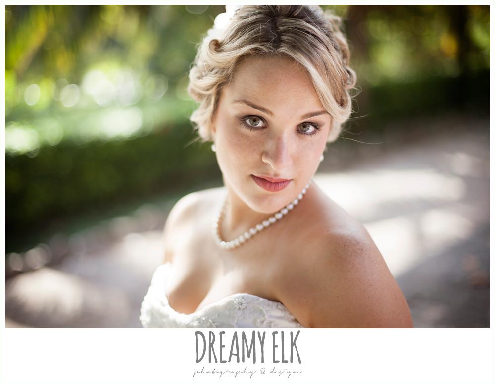 beach wedding hair, strapless wedding dress, destination wedding, cozumel {dreamy elk photography and design} photo